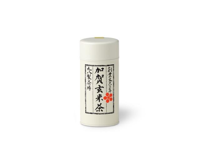 加賀玄米茶 120g 缶入